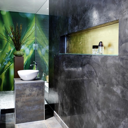 Badezimmer Wand Verputzen