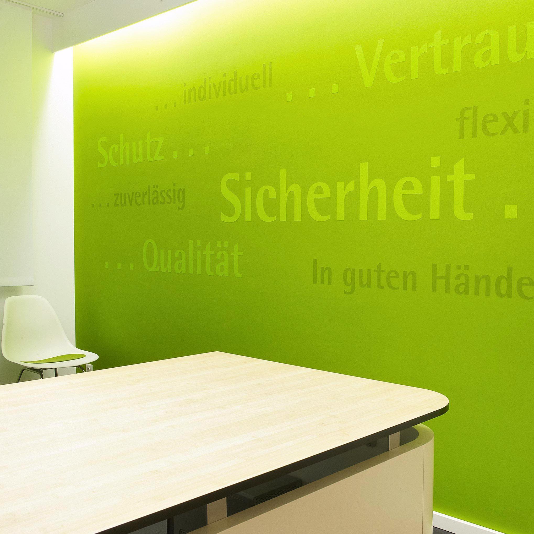 Referenzen – Arbeiten – LVM Büro - Böden - Oberflächen | Maler ...